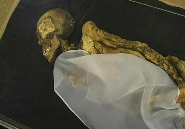 La princesa de Ukok, Museo Anokhin, Rusia © Kobsev at Russian Wikipedia / CC