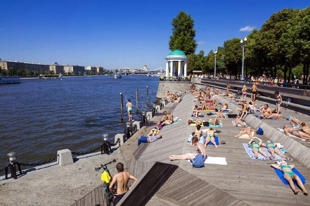 El río y el Parque Gorki, Moscú, Rusia © Oleg Zhukov / Shutterstock