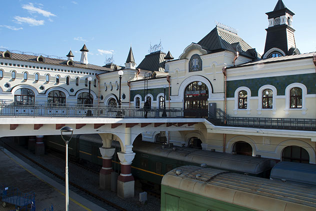 Estación de tren de Vladivostok, Rusia © demamiel62 / Shutterstock
