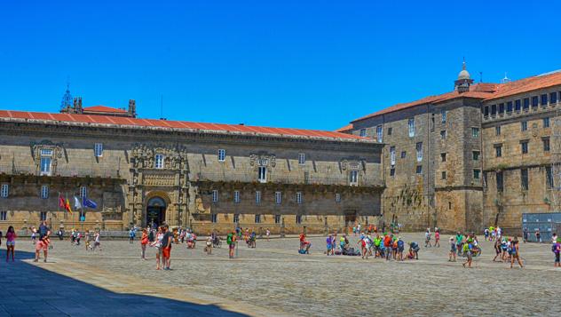 Santiago de Compostela, ciudad española Patrimonio de la Humanidad