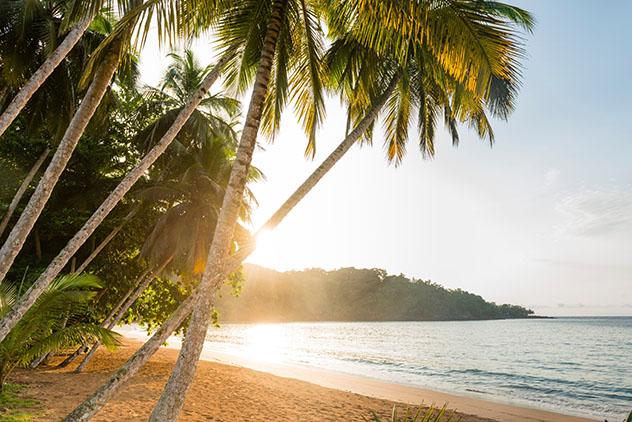 Santo Tomé y Príncipe: playa de Príncipe
