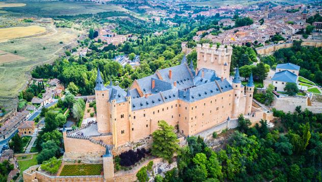 Segovia, ciudad española Patrimonio de la Humanidad