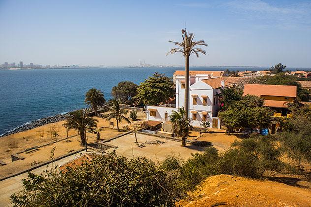 Isla de Gorée, cerca de Dakar, Senegal