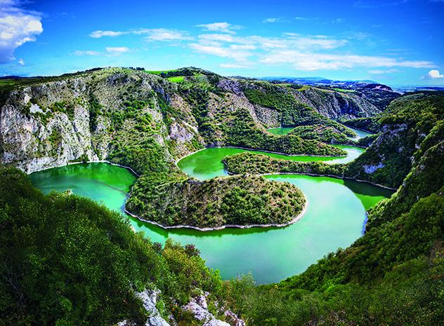 Serbia, río Uvac