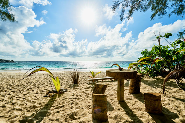 Playa Anse Intendance, isla Mahé, Seychelles © LRPhotographies / Shutterstock