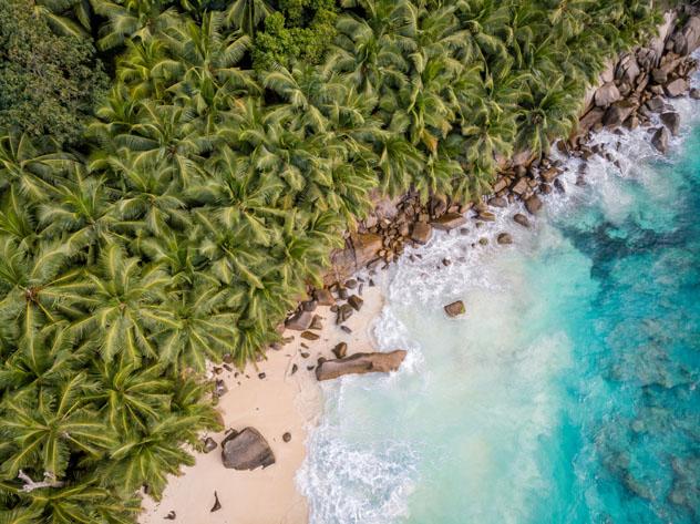 Playa Anse Intendance, isla Mahé, Seychelles © Fokke Baarssen / Shutterstock
