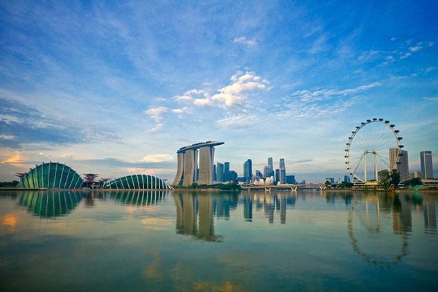 Skyline de Singapur, Sureste asiático