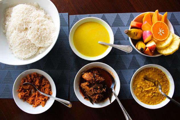 La cocina ceilandesa presenta un sinfín de deliciosos sabores y especias, Sri Lanka © Ian Murdoch / Getty Images