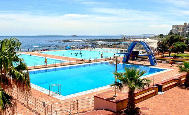 Piscina oceánica: Sea Point Pavilion, Ciudad del Cabo, Sudáfrica