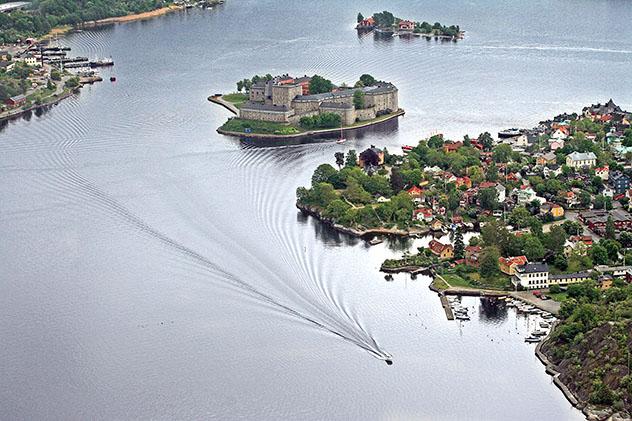 Islas de Europa: islotes de Estocolmo, Suecia
