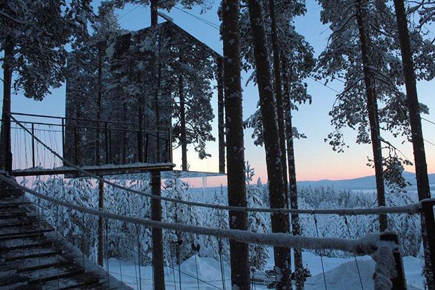 Hotel europeo: Tree Hotel, Harads, Suecia
