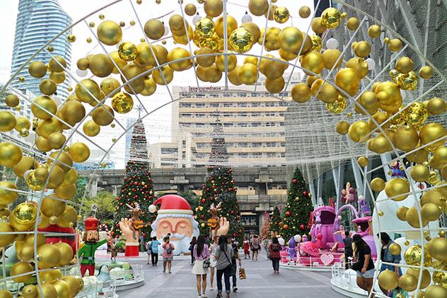 Fin de Año en Bangkok, CentralWorld Plaza