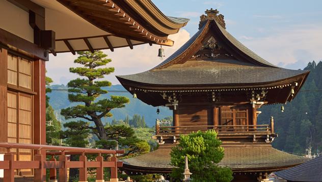Takayama, Japón © Urban Napflin / Shutterstock