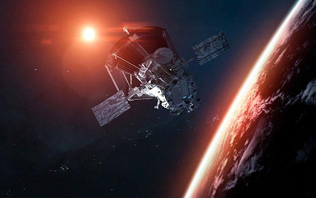 El planeta Tierra, sistema solar, universo