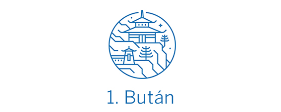 Bután, país TOP 1 Best in Travel 2020