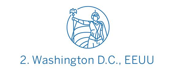 Washington D.C., ciudad Top 2 Best in Travel 2020