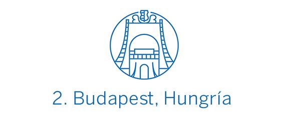 Budapest, destino calidad-precio Top 2 Best in Travel 2020