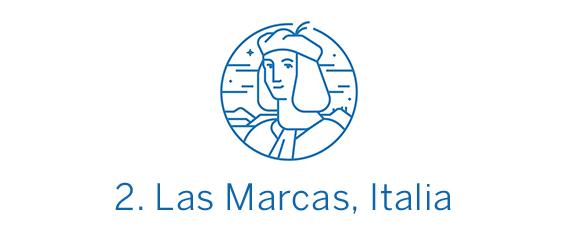 Las Marcas, región Top 2 Best in Travel 2020