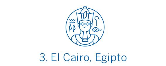 El Cairo, ciudad Top 3 Best in Travel 2020