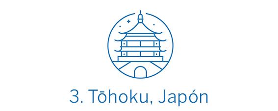 Tōhoku, región Top 3 Best in Travel 2020