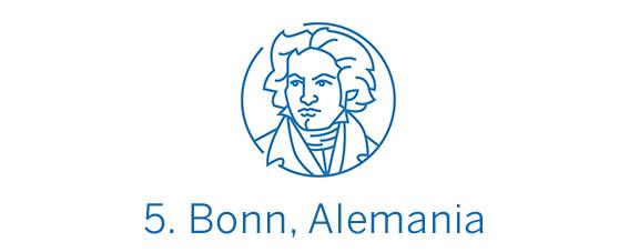 Bonn, ciudad Top 5 Best in Travel 2020