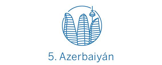 Azerbaiyán, destino calidad-precio Top 5 Best in Travel 2020