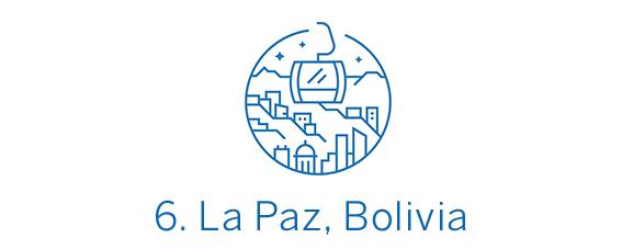 La Paz, ciudad Top 6 Best in Travel 2020