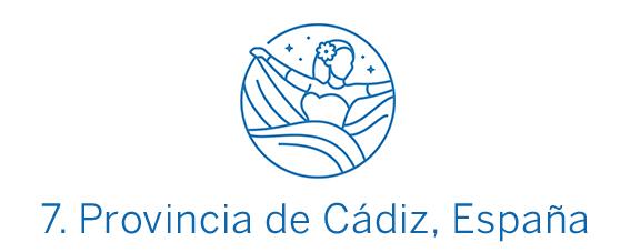 Provincia de Cádiz, región Top 7 Best in Travel 2020