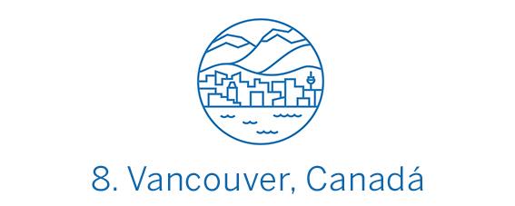 Vancouver, ciudad Top 8 Best in Travel 2020