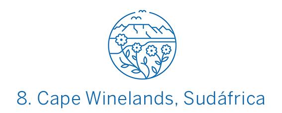 Cape Winelands, destino calidad-precio Top 8 Best in Travel 2020