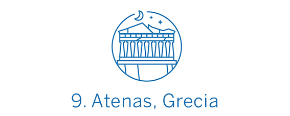 Atenas, destino calidad-precio Top 9 Best in Travel 2020