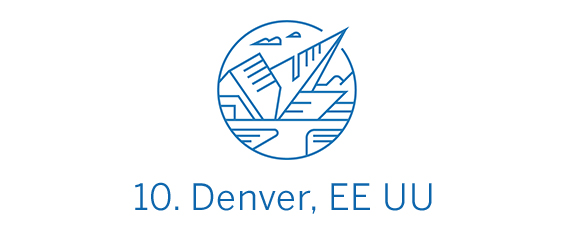 Denver, ciudad Top 10 Best in Travel 2020
