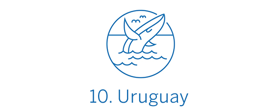 Uruguay, país Top 10 Best in Travel 2020