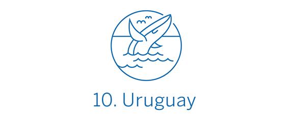 Uruguay, país Top 10 Best in Travel 2020