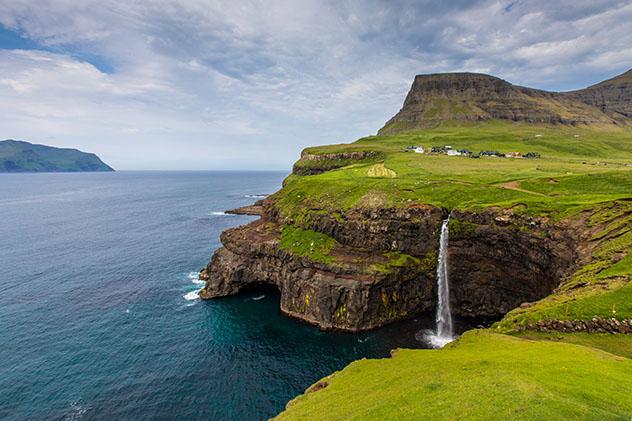 Turismo sostenible: comunidad. Islas Feroe, Dinamarca