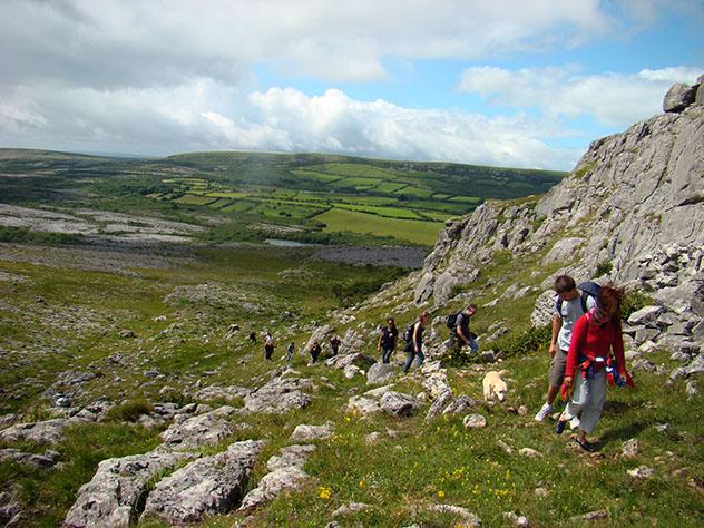 Turismo sostenible: comunidad. Burren EcoTourism Network, Irlanda