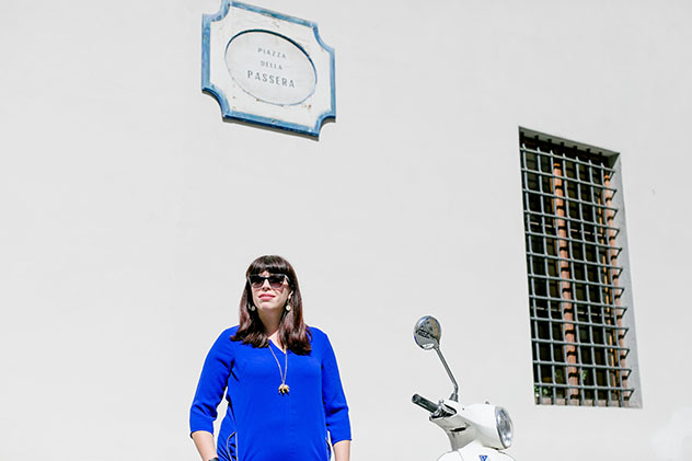 Turismo sostenible: comunidad. Georgette Jupe, la autora del blog Girl in Florence