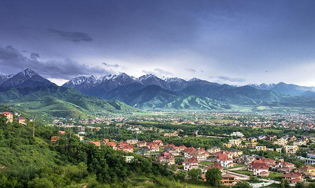 Turismo sostenible: comunidad. Alojamiento en Kazajistán