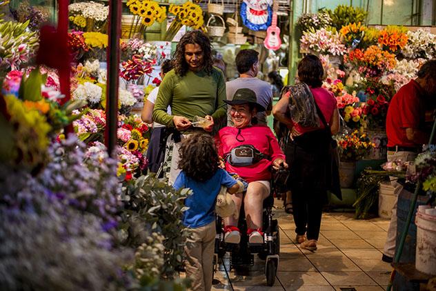 Turismo sostenible: diversidad. El Mercado Central de San José, Costa Rica