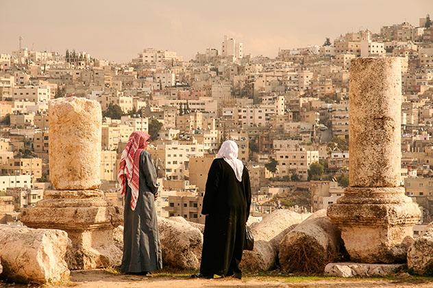 Turismo sostenible: diversidad. Ammán, Jordania, un destino acogedor