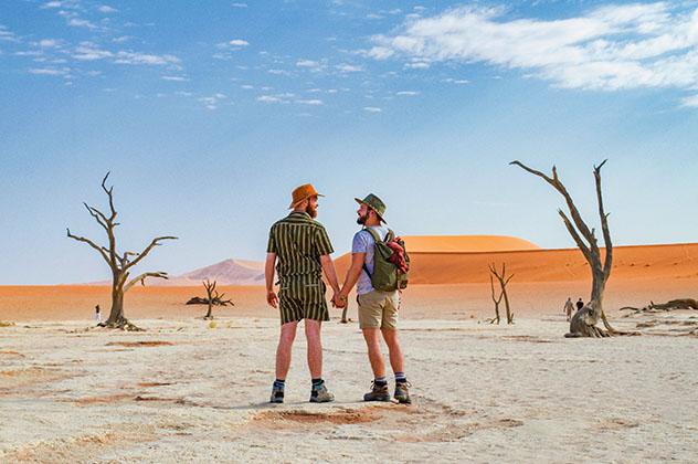 Turismo sostenible: diversidad. Karl Krause y Daan Colijn de Couple of Men
