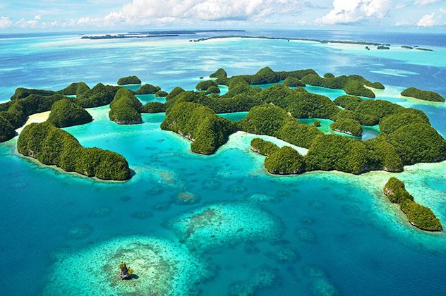 Turismo sostenible: sostenibilidad. Islas Palaos