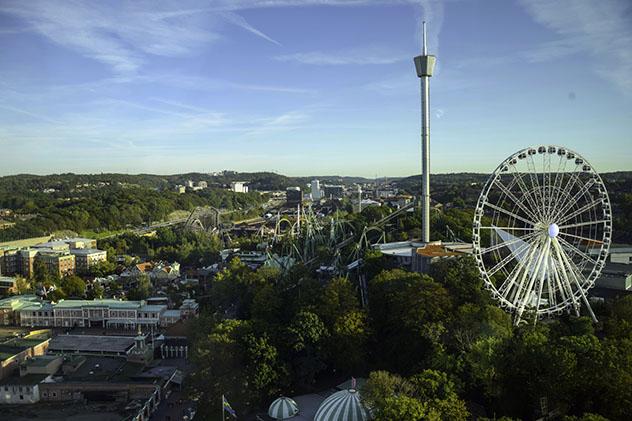 Turismo sostenible: sostenibilidad. Liseberg Park de Gotemburgo