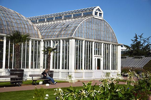 Turismo sostenible: sostenibilidad. Jardín Botánico de Gotemburgo, Suecia