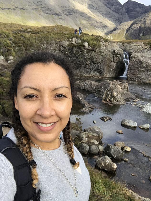 Turismo sostenible: sostenibilidad. Soraya Abdel-Hadi viajando