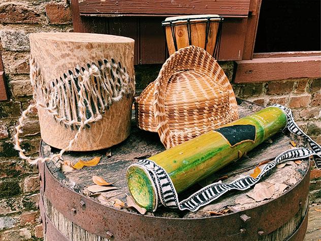 Turismo sostenible: diversidad. Artesanía tradicional gullah