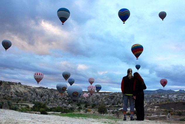 Lugares para declararse: Capadocia, Turquía