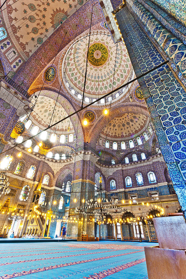 Ankara tiene el poder, pero Estambul tiene los puntos de interés, como lo Mezquita Azul, Turquía © Traveler1116 / Getty Images