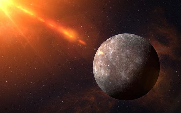 Broncearse en Mercurio