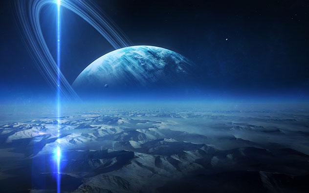 Admirar las auroras de Urano